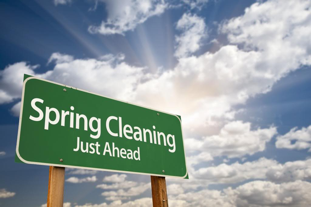 Spring Cleaning Just Ahead