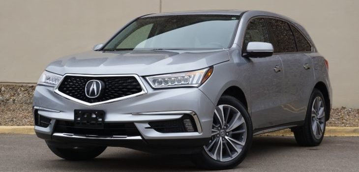 Vehicle Spotlight: 2018 Acura MDX Technology