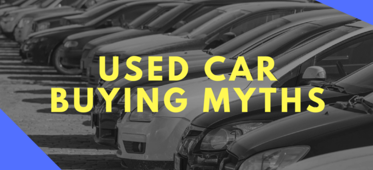 Top 4 Car Buying Myths